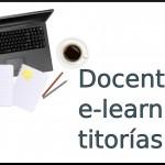 Docentes e-learning: titorías