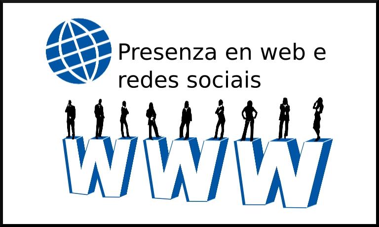 A túa empresa na rede. Presenza en web e redes sociais relevantes