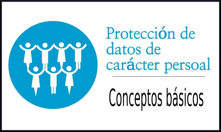 Conceptos básicos da protección de datos