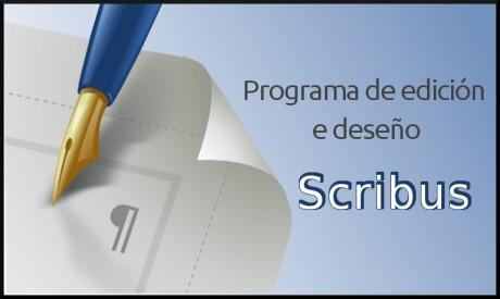 Scribus. Programa de edición e deseño: folletos e carteis