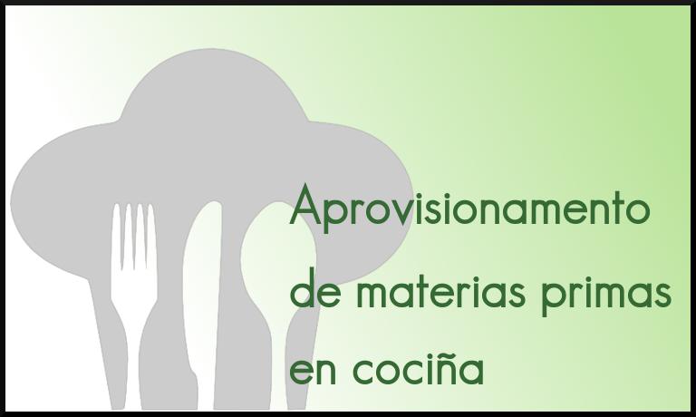 Materias primas en cociña